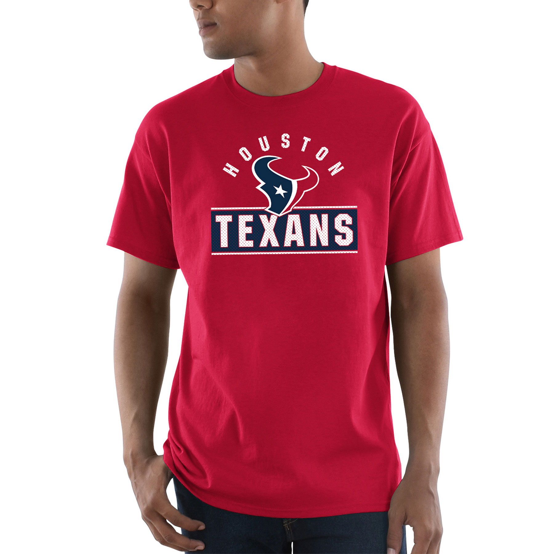 Houston Texans Majestic Maximized T-Shirt - Red