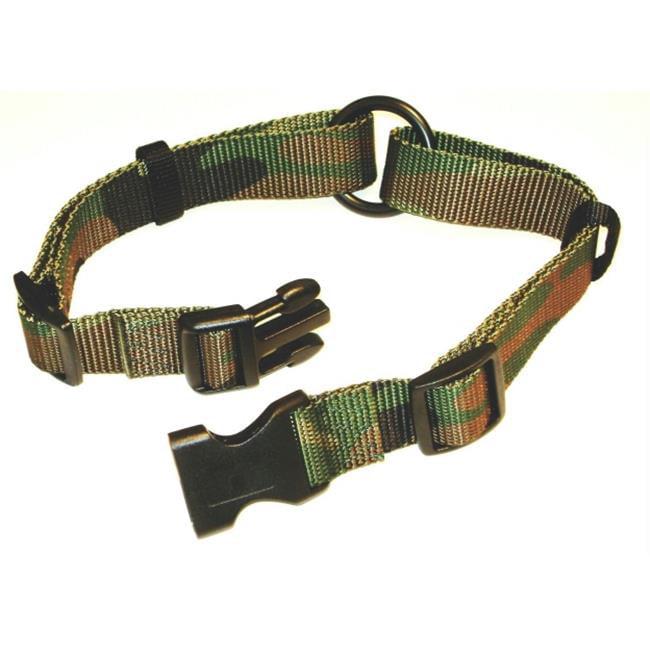 Hamilton Pet Company - Adj Saferite Dog Collar- Camouflage 1 X 18-26 - FALS 18-26 CM - image 1 of 1