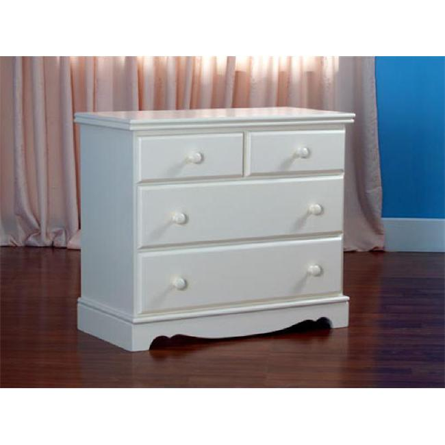 Eden Baby Furniture 685-DC Savannah 3-drawer Chest- Dark Cherry by Eden Baby Furniture
