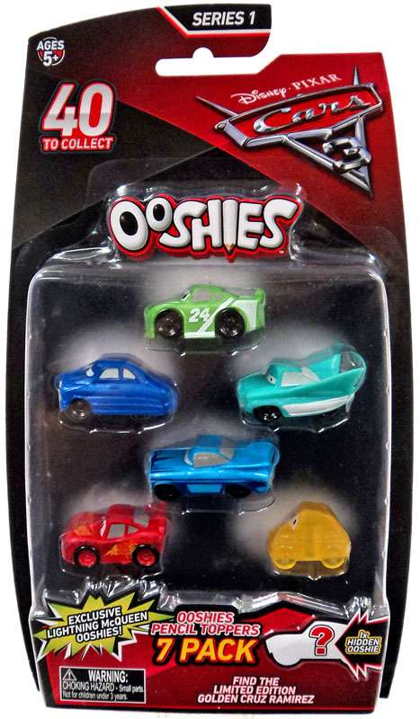 Ooshies PENCIL TOPPERS Pixar Cars Doc Hudson New Release Figure Toys Gift