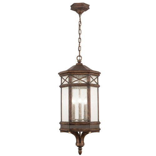 Fine Art Lamps Holland Park 3-Light Outdoor Hanging Lantern by Fine Art Lamps