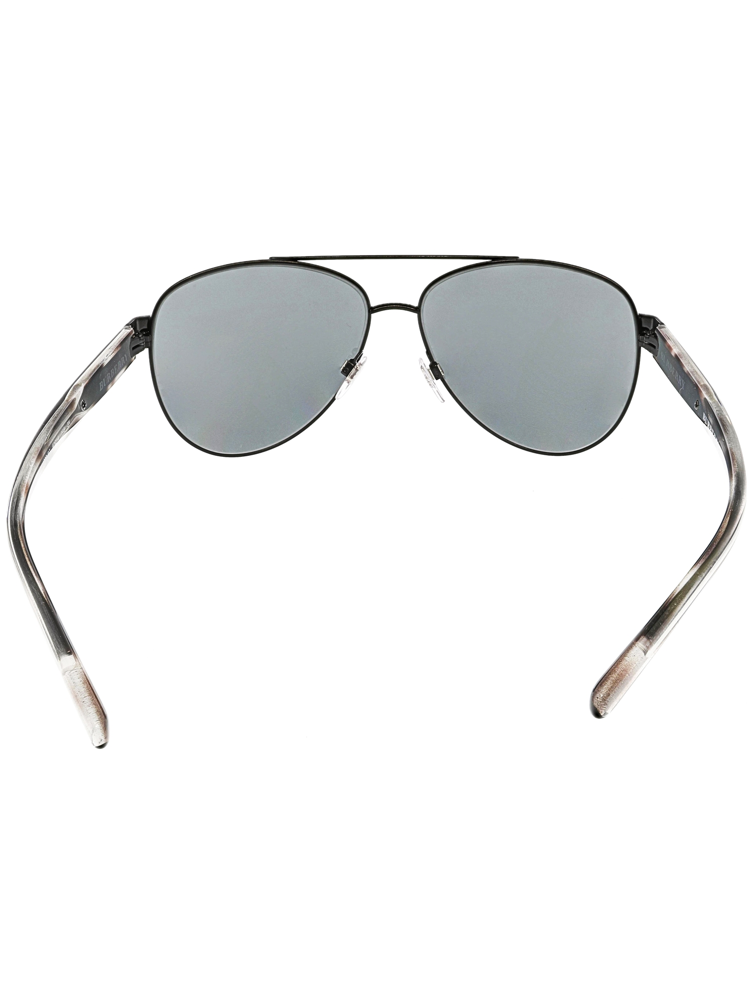 7eab4f51ad85 Burberry - Burberry Women s BE3084-122887-60 Black Aviator Sunglasses -  Walmart.com