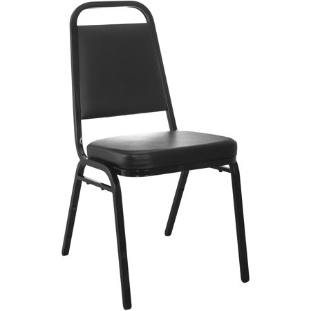 Vinyl Padded Stack Chair - Advantage Series Stacking Banquet Chair with Vinyl and 2.5