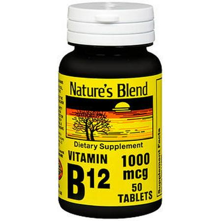 Mélange de nature vitamine B12 1000 - 50 comprimés mcg ct