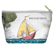 Where The Wild Things Are Max'S Boat Accessory Pouch White 8.5X6