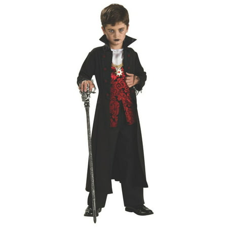 Halloween Royal Vampire Child Costume](Vampire Halloween Face Paint)
