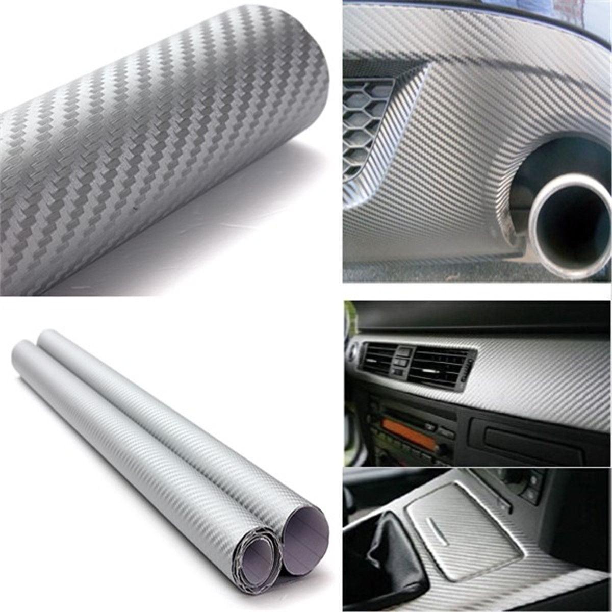 "1Pcs 24""x59"" Roll Vinyl Wrap Film Sticker Decal Vehicle SUV Van Home Window Self Adhesive Waterproof"