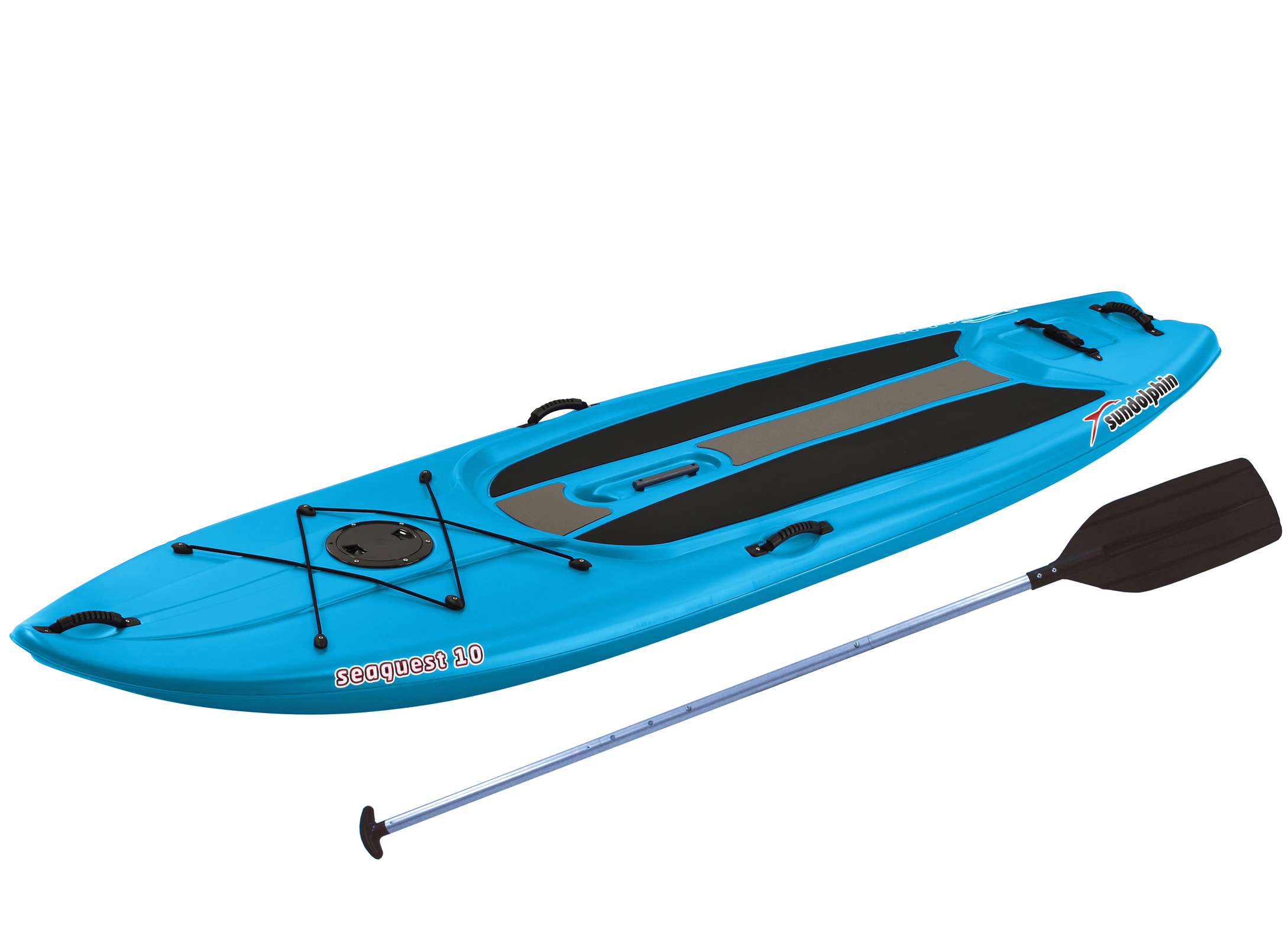 Sun Dolphin Seaquest 10' SUP, Includes Paddle by KL Outdoor