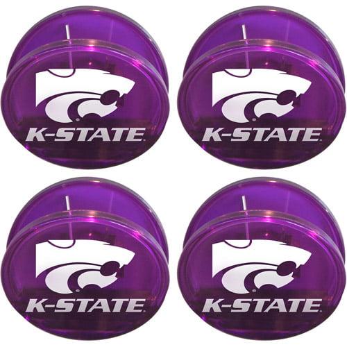 NCAA Kansas State Wildcats Magnetic Chip Clip Set, 4pk