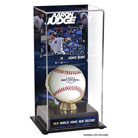 Aaron Judge New York Yankees Fanatics Authentic MLB All-Time Rookie Home Run Record Sublimated Display Case with Image - No