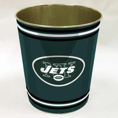 NFL New York Jets Wastebasket