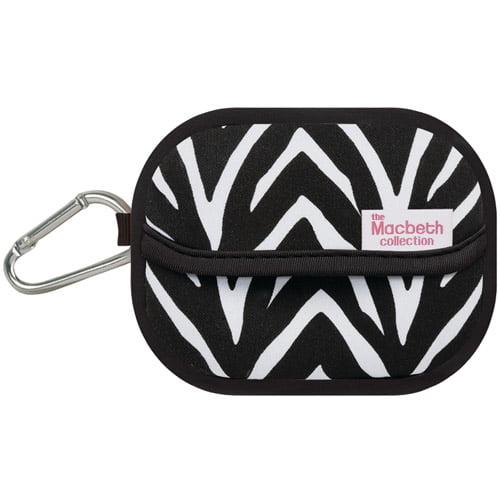 Merkury Innovations Macbeth Neoprene Camera Case Zebra