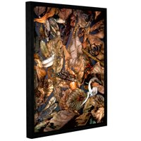 'Autumn Sonata' Gallery Wrapped Floater-framed Canvas Art Print, 14x18
