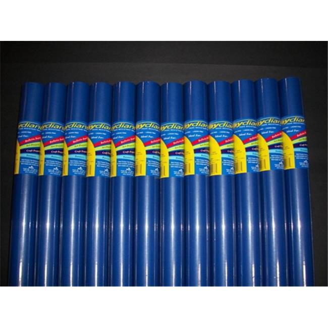 RiteCo Raydiant 80086 Riteco Raydiant Fade Resistant Art Rolls Dark Blue 36 In. X 30 Ft. 12 Pack