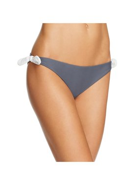 af54e5963a2 Product Image Tularosa Womens Side Bows Solid Swim Bottom Separates Gray S