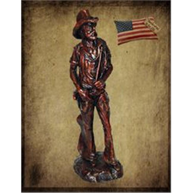 Craft-Tex 10083NP West Cowboy Figure Stand Statue