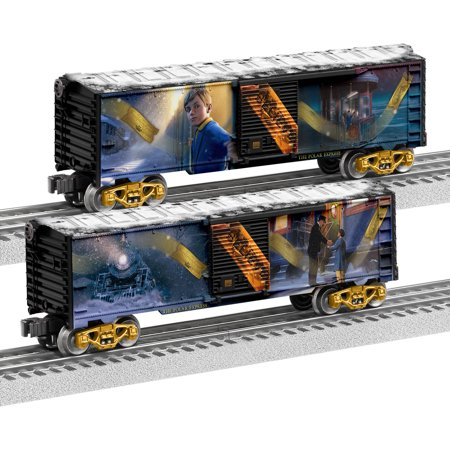 Lionel Trains Polar Express Story Boxcar 2-Pack