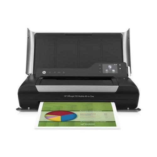 HP Officejet 150 Inkjet Multifunction Printer - Color - - Desktop