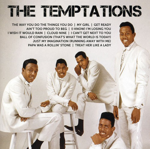 The Temptations - Icon Series: The Temptations (CD)