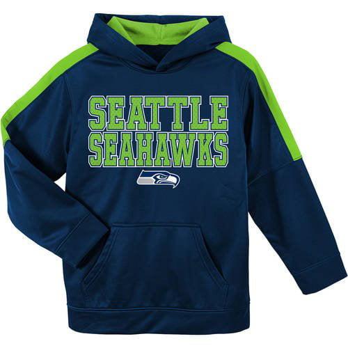 NFL Seattle Seahawks Youth Hooded Fleece Top