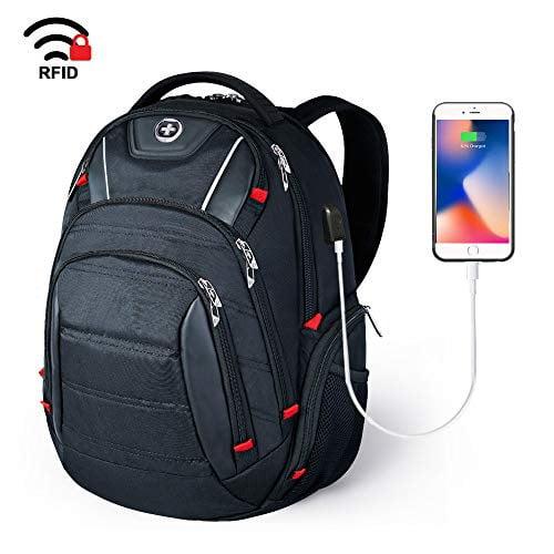 "Kross Precision 15.6/"" 15/"" Sports Laptop Notebook Tablet Backpack Black"