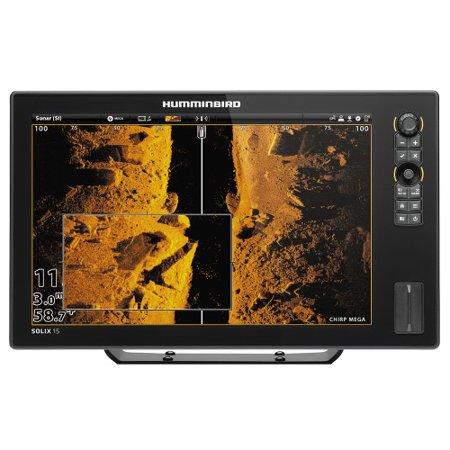 Humminbird 410420-1 SOLIX 15 CHIRP MEGA SI GPS Combo SOLIX 15 CHIRP MEGA SI GPS