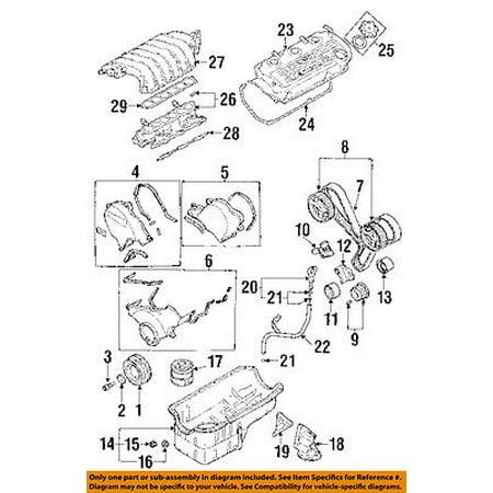 Dodge CHRYSLER OEM 95-00 Stratus 2.5L-V6 Engine-Filter
