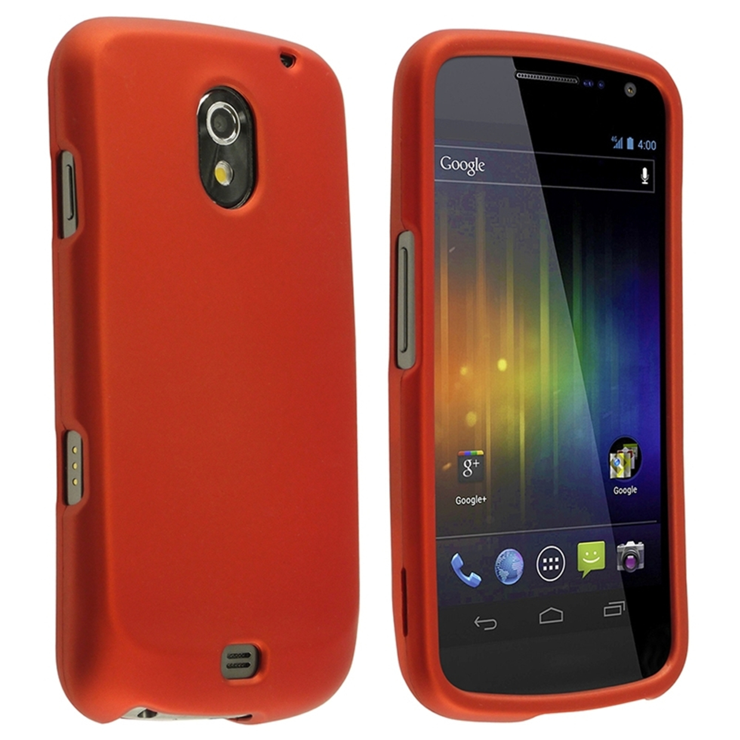 Insten Orange Ultra Thin Hard Shell Phone Case Cover For Samsung Galaxy Nexus CDMA i515