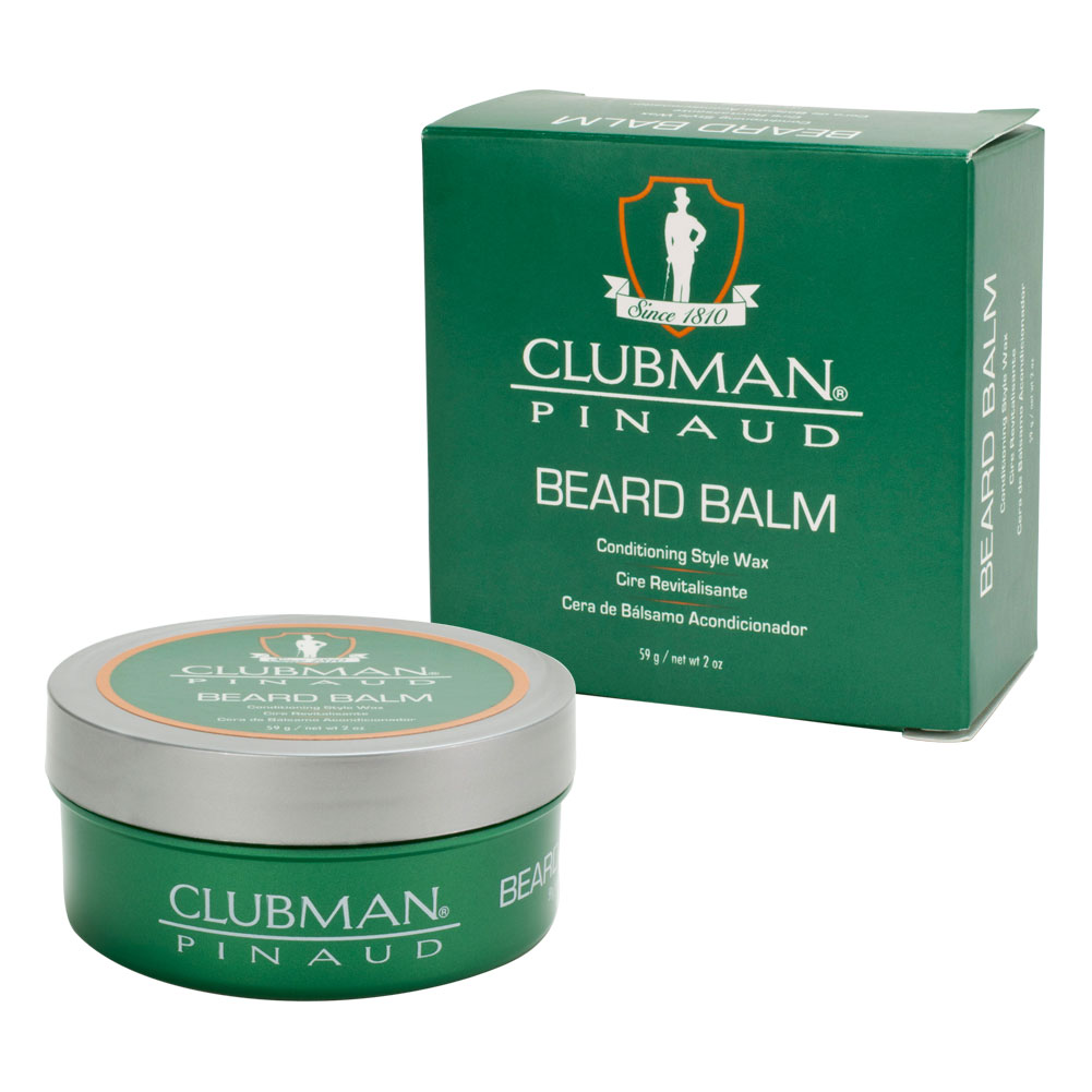 Pinaud Clubman 2oz Beard Balm Conditioning Style Wax Classic Scent, 27994