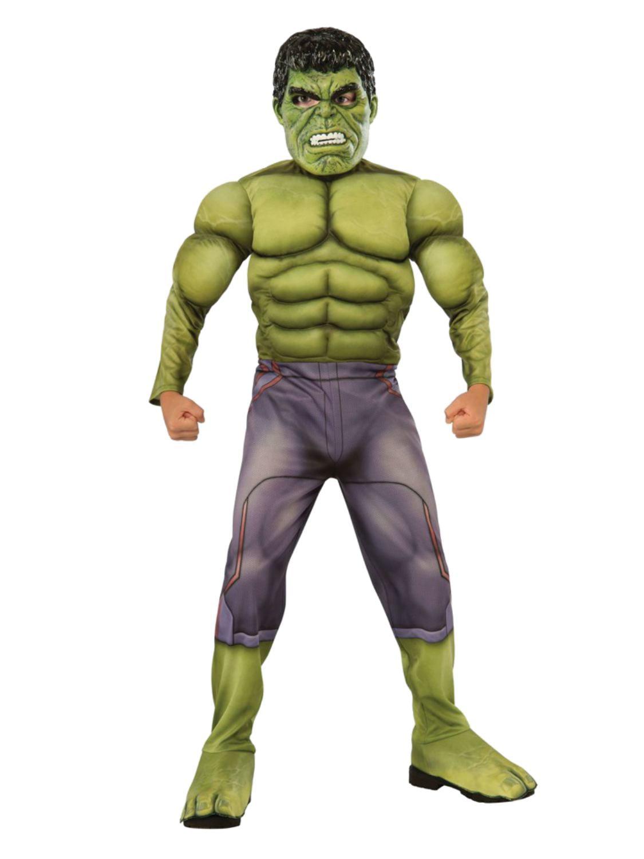 The Avengers Muscles Hulk Clothing Boys/' Fancy Dress Kids Cosplay Costume Hot