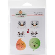 Peachy Keen Stamps Clear Face Assortment 7/pkg-variety