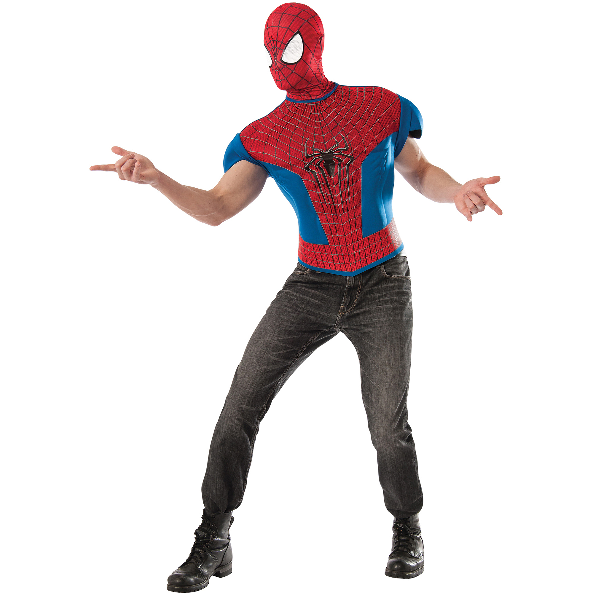 how to make a spider costume for adults