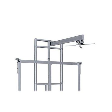 Balt Mounting Arm for Projector BLT66607 Short-throw projector arm is designed to work with Balt iTeach and Elevation Wall Mounts. Arm holds up to 25 lb. projectors. Throw distance is 22-1/2 to 48 . Included adapter allows use with universal mounts. Projector arm is made of steel with plastic parts.