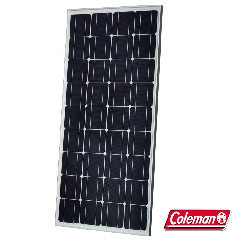 Click here to buy Coleman 38850 Sunforce 85 Watt Monocrystalline Solar Panel.
