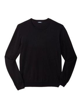 KingSizeMen's Big & TallPima Crewneck Sweater