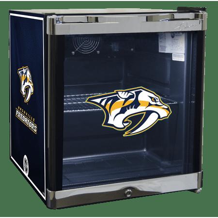 NHL Refrigerated Beverage Center 1.8 cu ft Nashville Predators by
