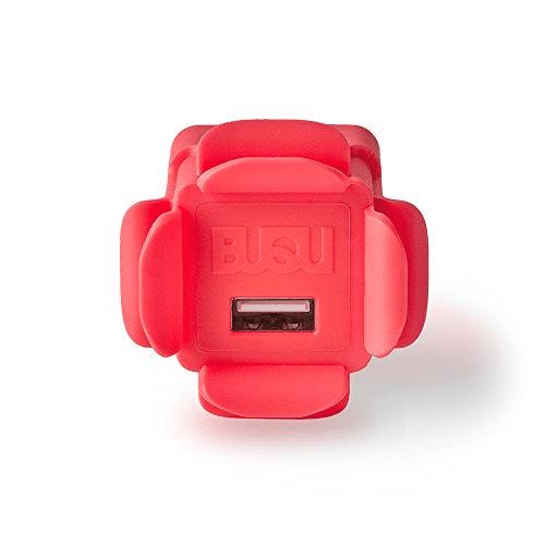 BUQU WALLFLOWER USB Wall Charger - Salmon