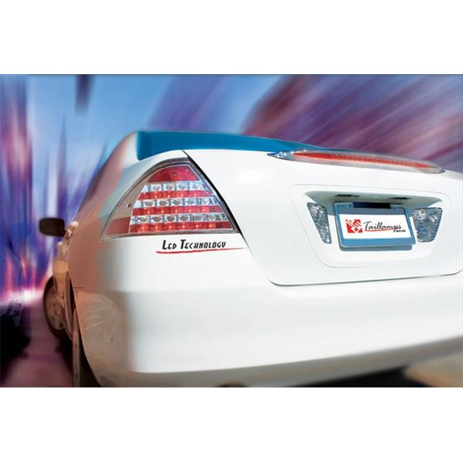 Honda Accord 2006 - 2007 Tail Lamps, LED Crystal Clear - image 1 of 1