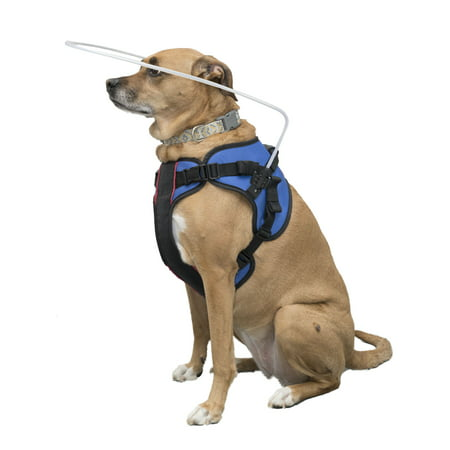 Dog House Blind - Blind Dog Halo Harness for Pets over 30 lbs