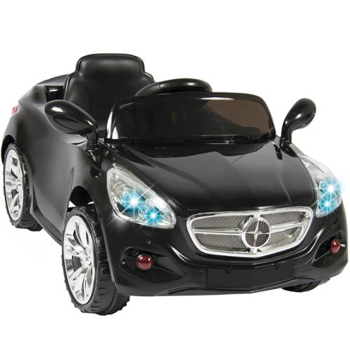 12V Ride on Car Kids RC Car Remote Control Electric Battery Power W/ Radio & MP3 Black