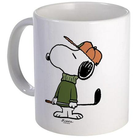 CafePress - Snoopy Golfer Mug - Unique Coffee Mug, Coffee Cup CafePress