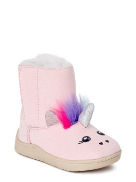 Wonder Nation Cozy Faux Shearling Boot (Infant Girls)