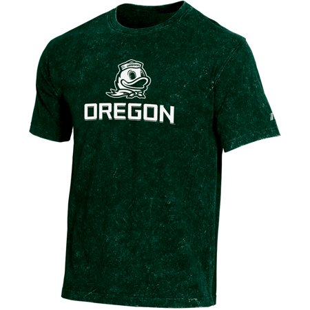 Men's Russell Green Oregon Ducks Classic Fit Enzyme Wash - Oregon Duck Shop
