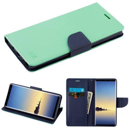 For Samsung Galaxy Note 8 MyJacket Stylish Flip Wallet Phone Case w/ Card Slot