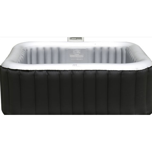 MSPA USA Alpine 4-Person 108-Jet Square Bubble Spa