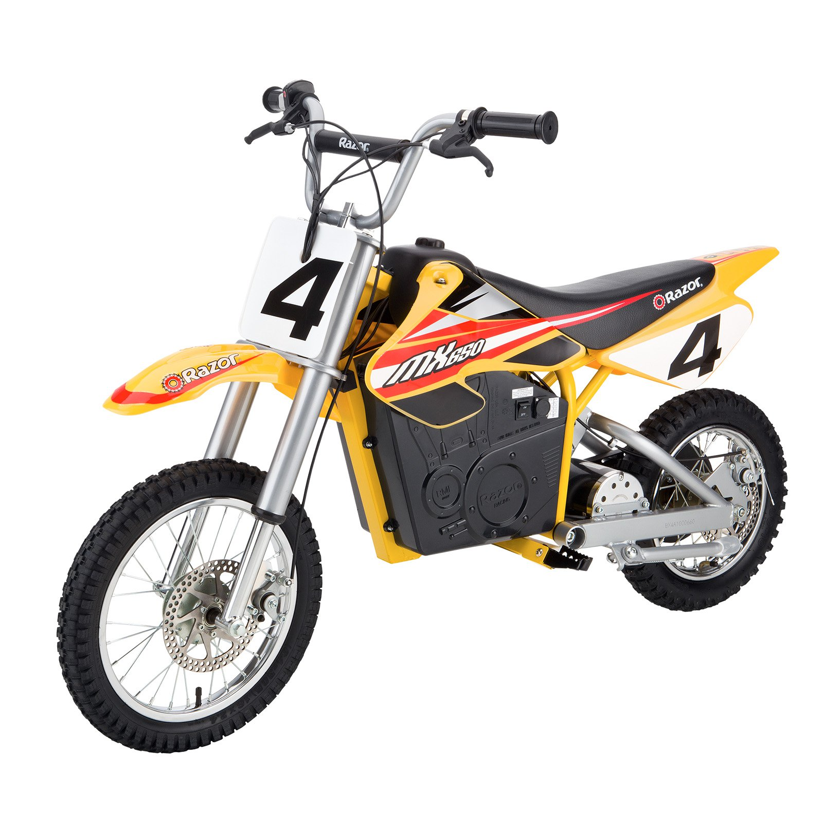 Razor MX650 Dirt Rocket Electric Bike - Yellow