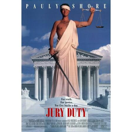 Jury Duty Movie Poster  11 X 17