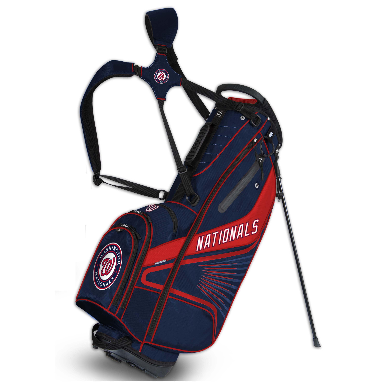 Washington Nationals Gridiron III Golf Stand Bag - No Size