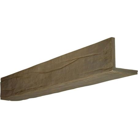 8 W x 6 H x 12 L 2 Sided L beam Riverwood Endurathane Faux Wood Ceili