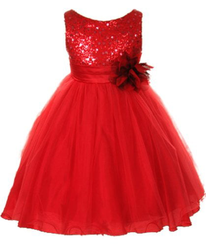 Kids Dream - Kids Dream Girls Deep Red Tulle Party Dress ...